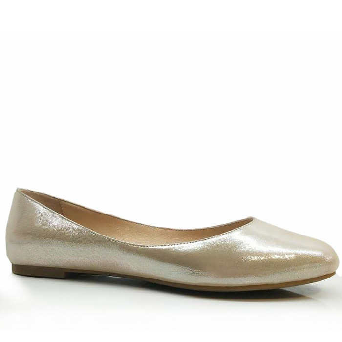 여성 발레 플랫 라운드 투 가죽 슬리퍼 복장 로퍼 신발