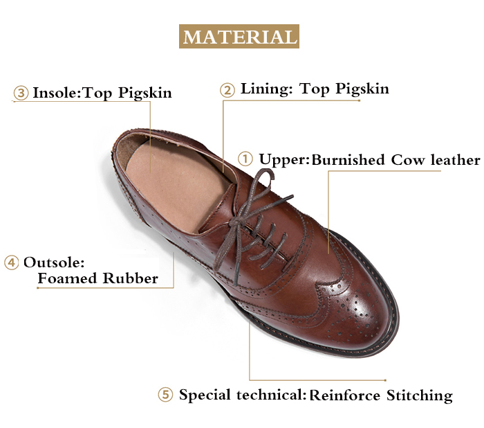 womens tan leather oxfords