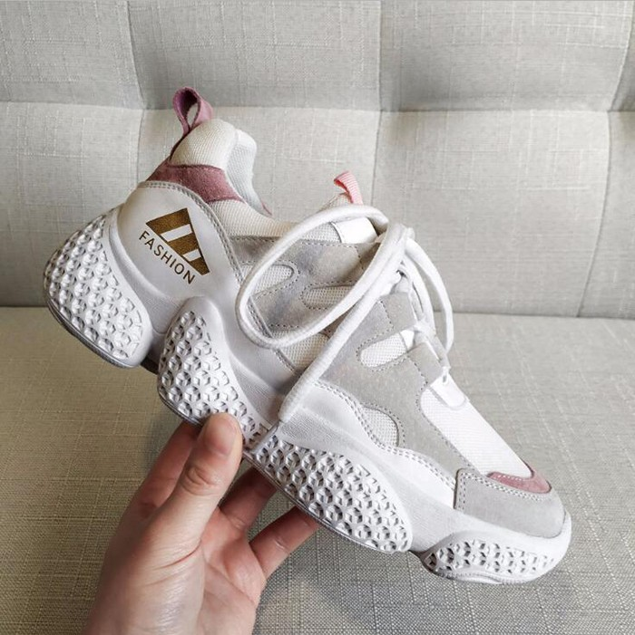 Genuine Leather Women Chunky Sneakers Comfortable Fashion Athletic Shoes Manufacturers, Genuine Leather Women Chunky Sneakers Comfortable Fashion Athletic Shoes Factory, Supply Genuine Leather Women Chunky Sneakers Comfortable Fashion Athletic Shoes