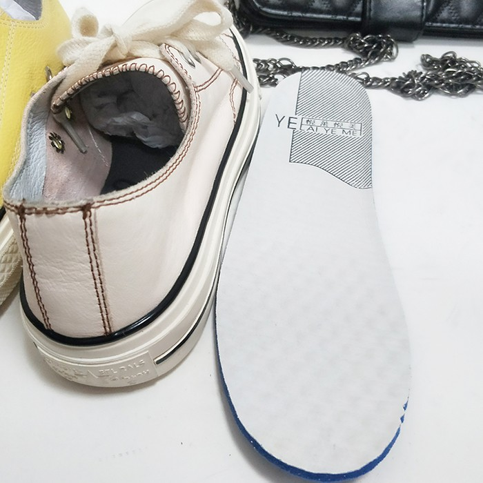 leather running shoes
