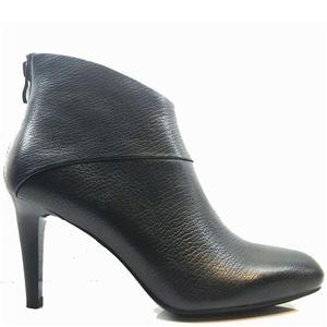 السيدات الجلود منتصف كعب الجوارب جولة تو أحذية الكاحل لينة الرمز البريدي مرة أخرى