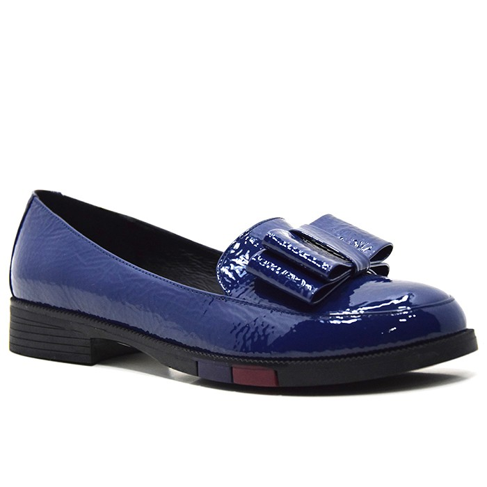 Women's Loafers And Slip Ons Leather Softwalk Shoes With Butterfly
