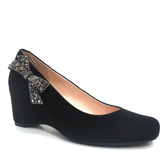 New dress shoes women platform leather walking heels