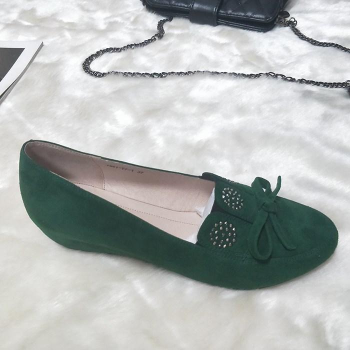 Women platform kid suede wedge shoes green Manufacturers, Women platform kid suede wedge shoes green Factory, Supply Women platform kid suede wedge shoes green