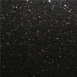 Lajes e telhas do granito da galáxia do preto