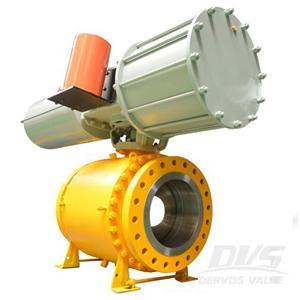 Pneumatic Ball Valve Full Bore Fire Safe DN300 PN40