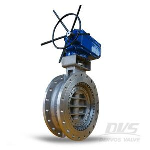API 609 Metal Seated Butterfly Valve CF8 12 Inch 300LB