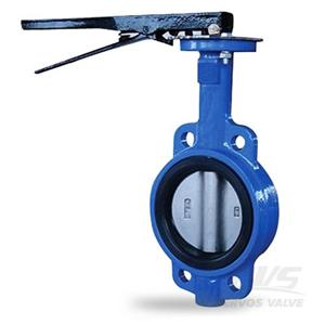 Cast Iron GG25 Butterfly Valve Lever Operated DN200