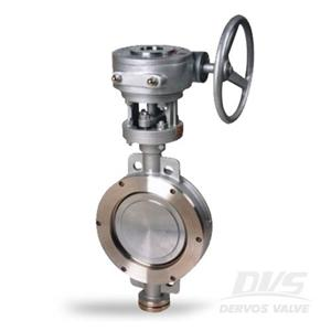 Wafer Butterfly Valve High Performance 6 Inch 600 LB SS