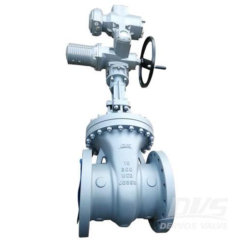 Въглеродна стоманена затваряща клапа 10 инчов 300 LB болтов капак RF