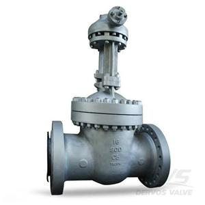 Gate Valve 16 Inch Class 900 Alloy Steel C5 Gearbox