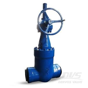PSB Gate Valve BW WC9 12 Inch 2500 LB Gearbox