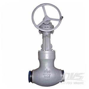 PSB Globe Valve 6 Inch CL1500 BW End Gearbox WCB