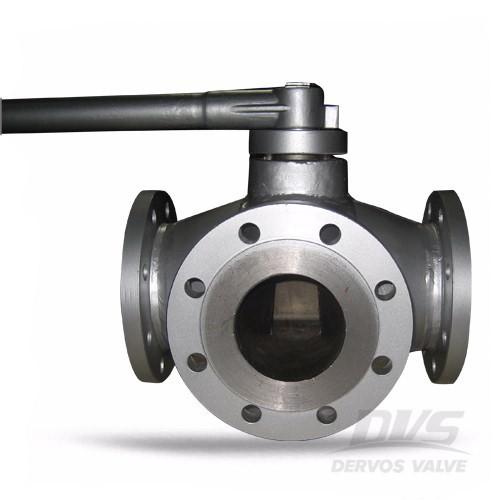 Трипътен щепселен вентил WCB 150 LB 4-инчов гаечен ключ