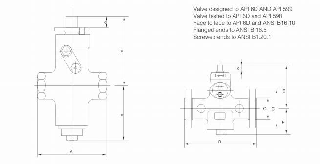 LCB API 6D Plug Valve