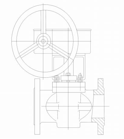150 LB Non Lubricated Plug Valve