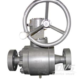 High Pressure 1 inch A105 Floating Ball Valve Lever