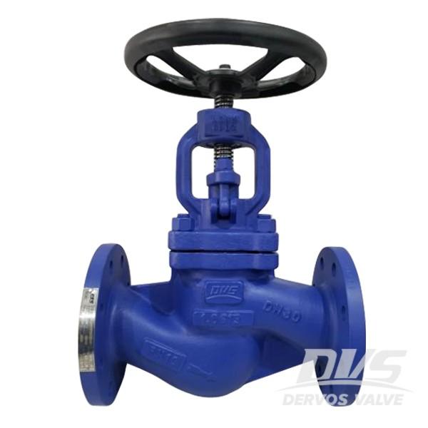PN25 DN80 Globe Valve Straight Type Handwheel Operation EN10213