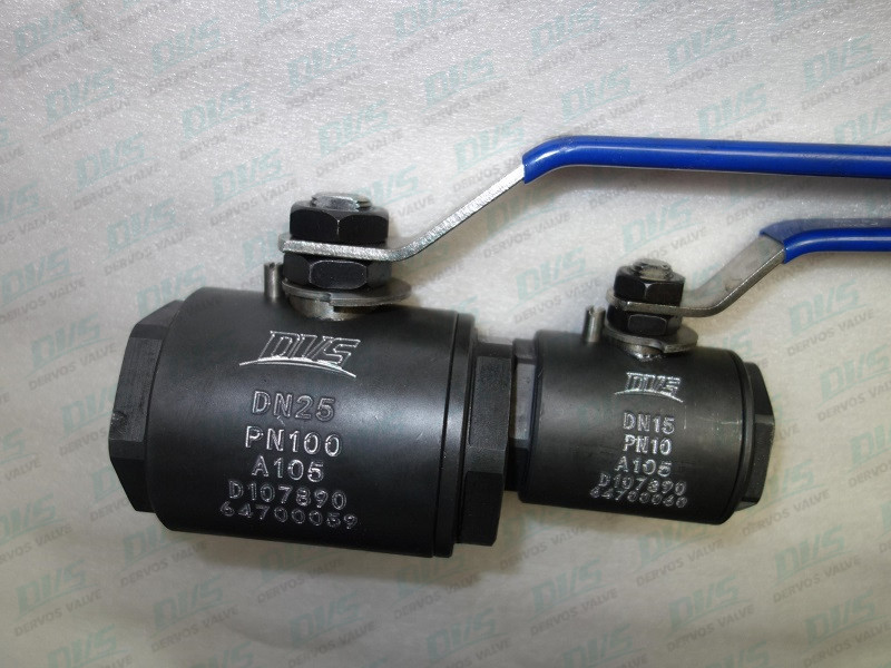 Forged Steel DN15 PN16 Ball Valve