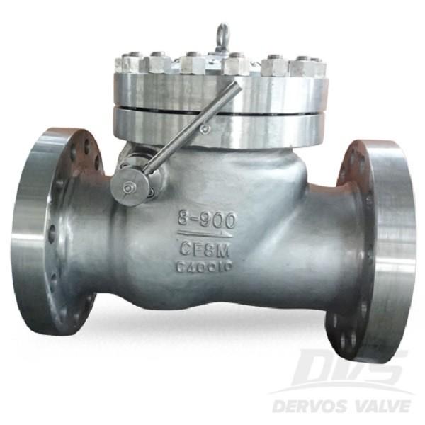Swing без възвратен клапан 8 Inch 900LB от неръждаема стомана