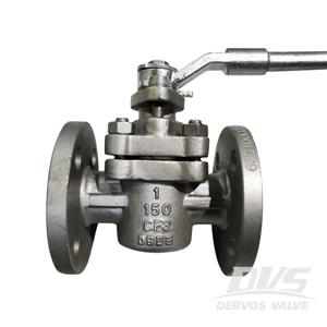 1 inch CF3 Self Lubricated Plug Valve Sleeve Type 150LB