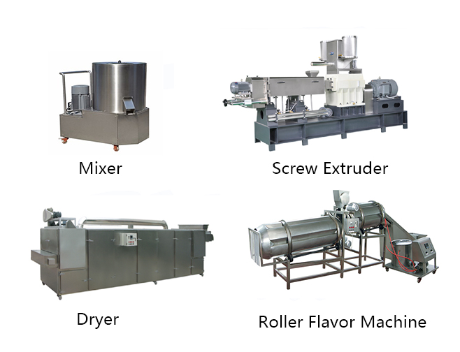 snack extruder machine