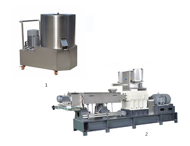 Customized Brands Puffed Sweet Corn 100kg Snack Food Extrusion Making Machine production line Producers