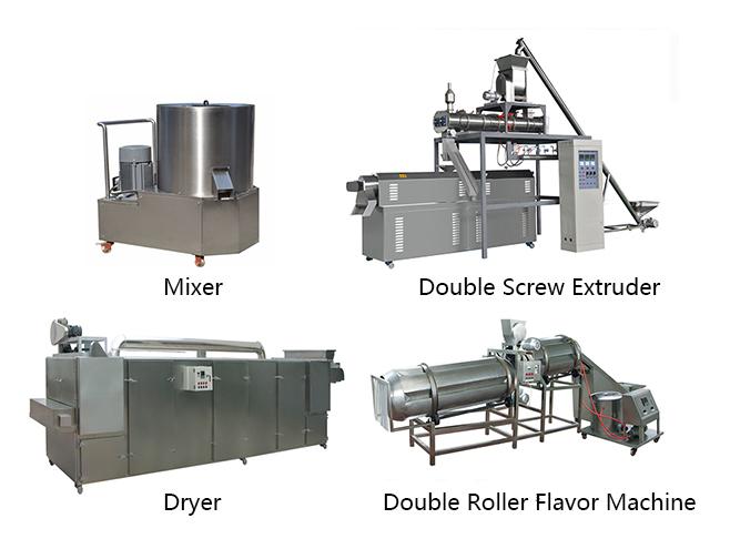 fish feed extruder making machine
