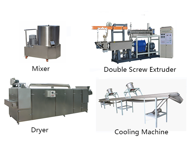 extrusion nutritional rice machine