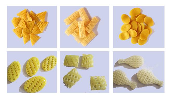 automatic 3d pellet snack food machine