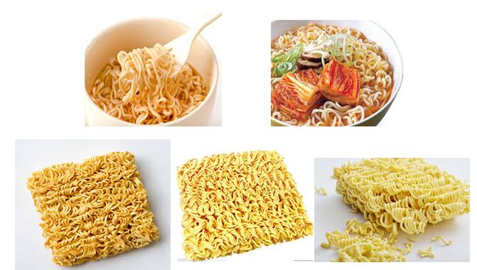 mini instant noodles machinery