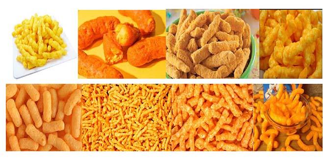 cheeto nik nak kurkure snack making machinery