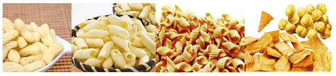 full automatic puffing snacks food making machine