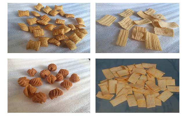ce certificated fried flour snack food machine