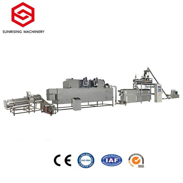 Extruded सूखे पालतू खाद्य मशीन उत्पादन लाइन