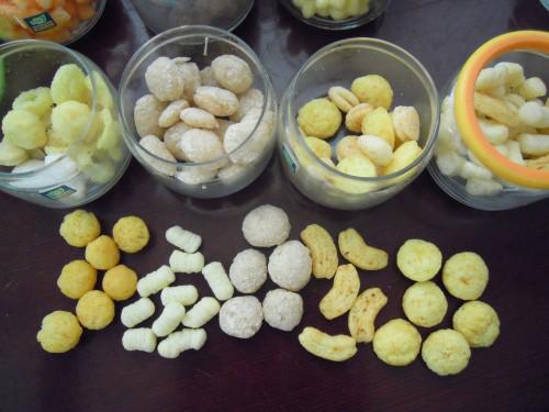 puffed snacks food machinery