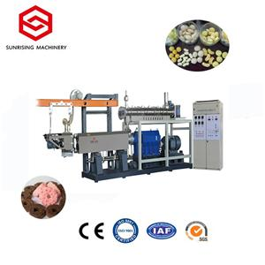 Puffed Sweet Corn Snack Food Extrusion Making Machine