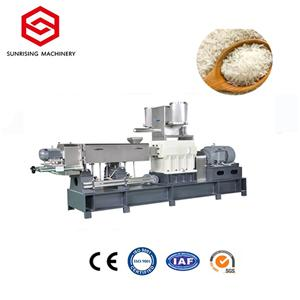 Extruded Nutritional Artificial Rice Food Machine