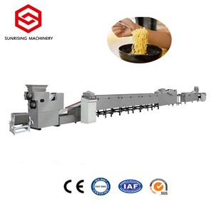 स्वचालित मिनी इंस्टेंट नूडल उत्पादन मशीन