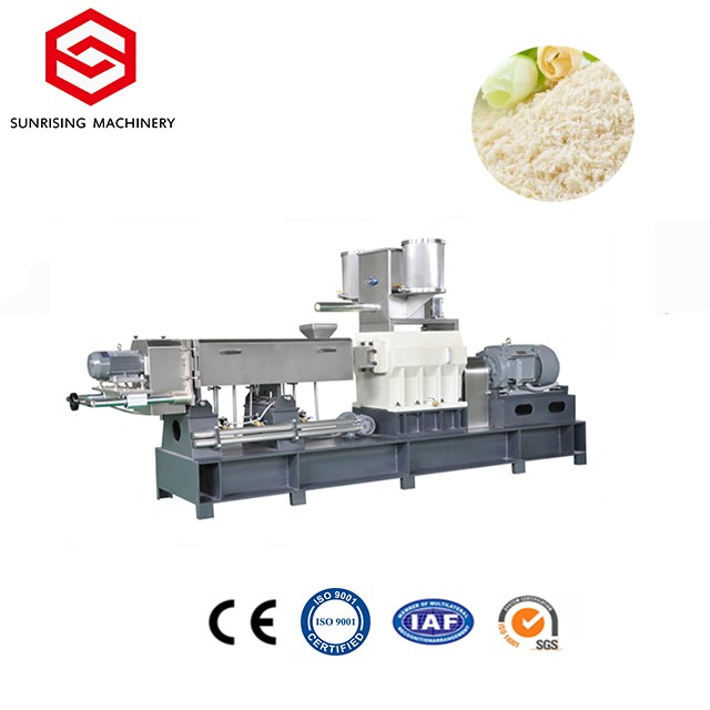 Energy Saving Customized Panko Bread Crumbs Machinery