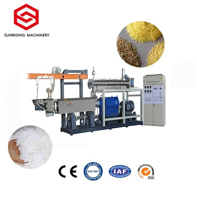 Macchina per la produzione di riso estruso in acciaio inossidabile