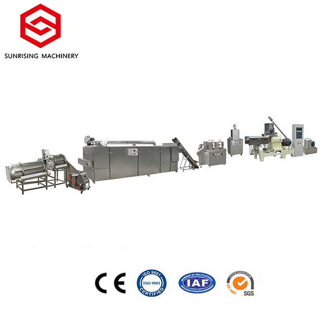 Core filling puffed snack machine production line