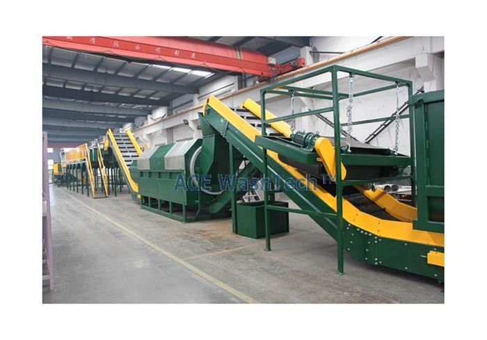 1000 Kg/h PET Recycling System