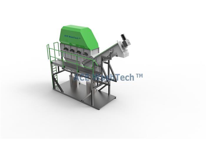 ECO300 Soft Plastic Washing Line