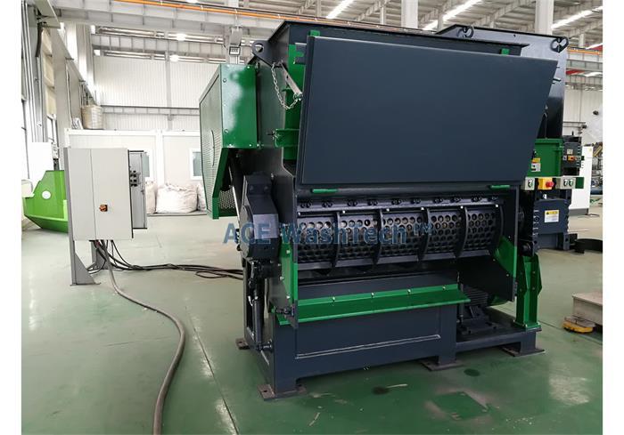 plastik parçalama makinesi