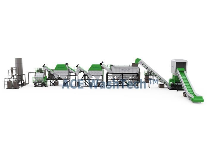 PRO 500 Automatic Film Bag Washing Line