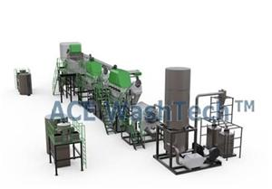ECO 750 PP PE Plastic Friction Washer Recycling Line