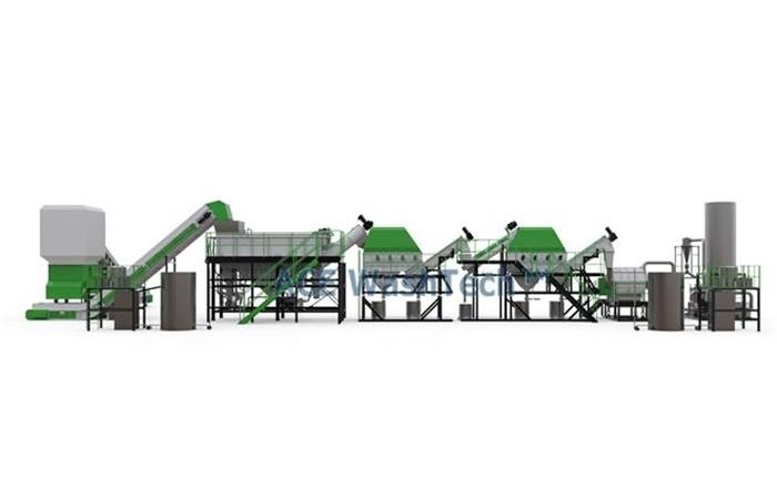 PRO 750 PP PE Plastic Recycling System