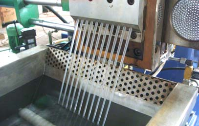 Woven bag recycling line
