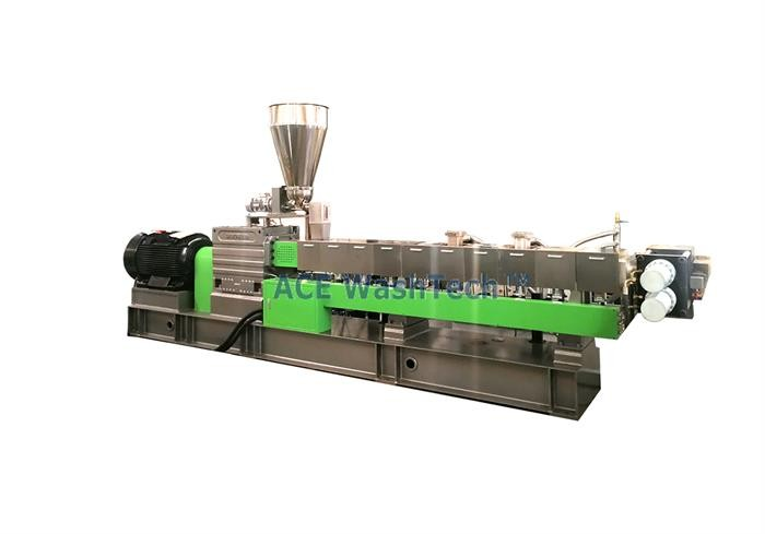 PET Bottle Flakes Pellets Making Granulator Machines